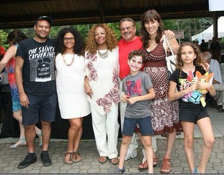 Di Marco Family Photo at A Touch of Love and Hope Foundation's Multicultural Extravaganza Celebrating Canada's 150th Anniversary of Confederation, Venato Centre, July 16th. 2017